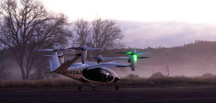 Joby Aviation aircraft