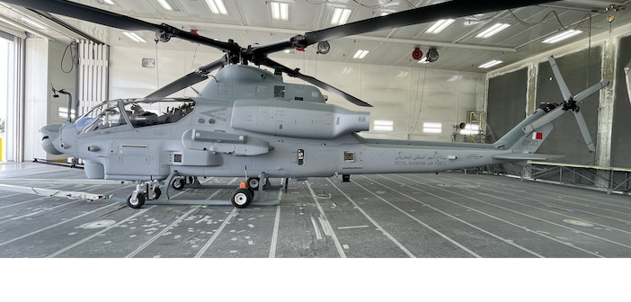 Bell delivers AH-1Z Viper attack helicopter for supply to Bahrain