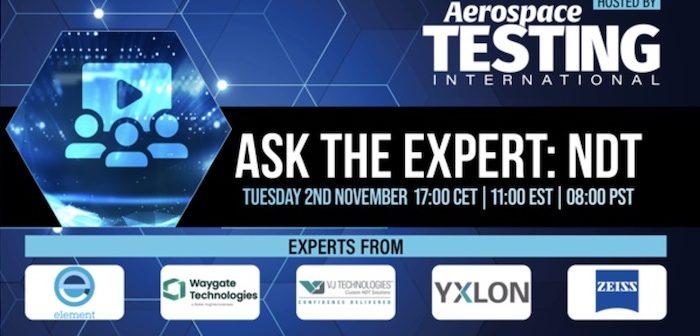 Webinar: Ask the Expert – NDT
